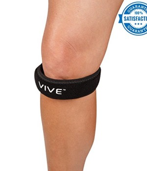 Patella Strap by Vive (Pair) - Best Knee Strap for Jumpers Knee