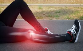Knee hyperextension injury