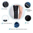 Tri-Panel Knee Immobilizer Brace for Post Surgery Recovery
