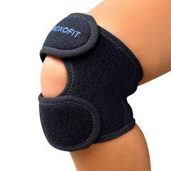 Dual Patella Strap - Knee Brace for Osgood Schlatter, Chondromalacia Patella, Arthritis, Running, Meniscus Tear, Patellar Tendonitis, Knee Pain Relief for Men, Women