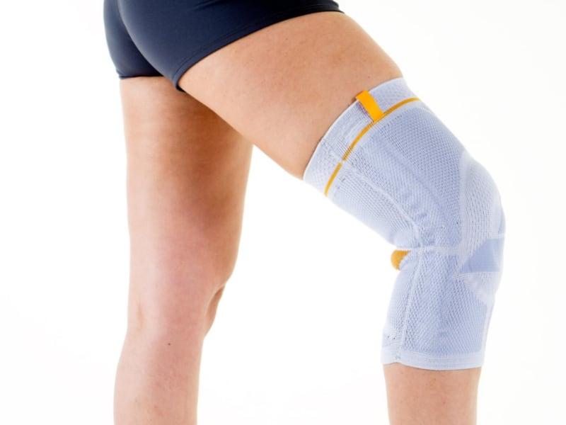 under knee brace sleeve